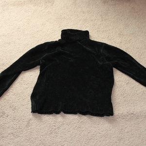 Long Sleeve Black Sweater